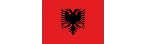 Tatuaggi Temporanei | BANDIERA ALBANIA
